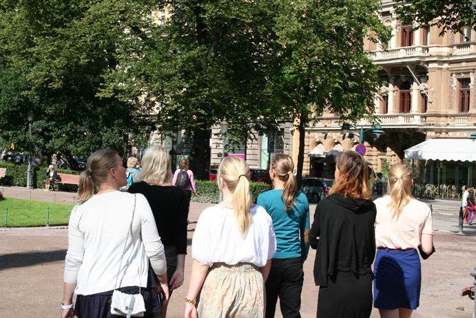 Luogo comune: le finlandesi sono tutte bionde!