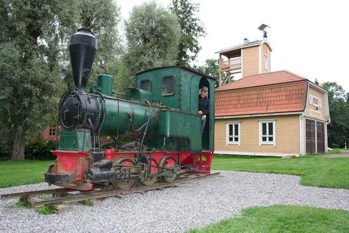 La locomotiva Piccolo ariete a Fiskars