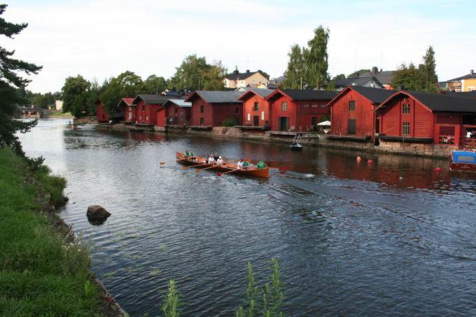 Dalle rive del Poorvonjoki a Porvoo