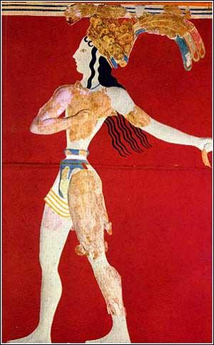 Palazzo di Knossos - Principe dei Gigli