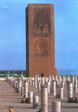 Rabat - La torre di Hassan II