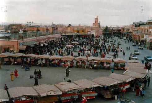 Marrakech, Piazza Jemaa El Fna