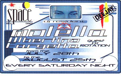 Il biglietto dello Space