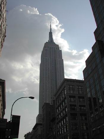 Empire State dalla 5th Avenue