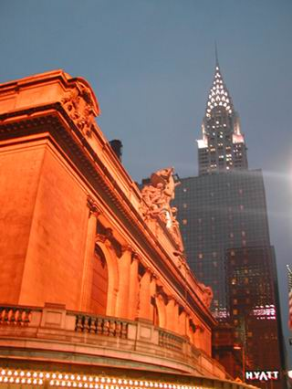 Grand Central Station e il Chrysler Building