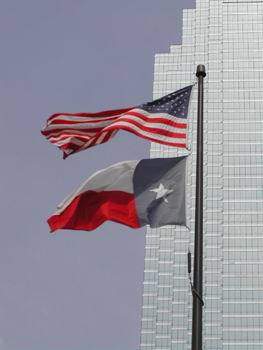 Star & Stripes, Texas Flag