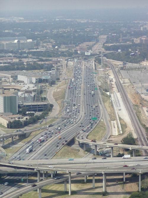 Highway dalla Reunion Tower (Dallas)